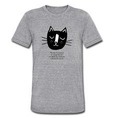 Cat Lady Tee - Unisex Tri-Blend T-Shirt (M)