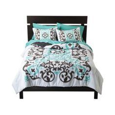 Scroll comforter set. $29.99 at Target.