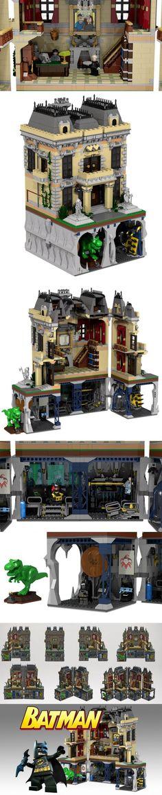 Batman Assault on Wayne Manor LEGO