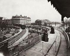 Trottoir roulant. Exposition universelle de 1900
