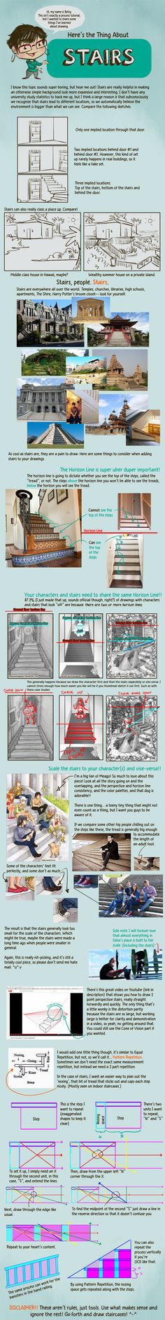 Here's the Thing About Stairs by betsyillustration on DeviantArt