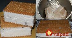 Domáca ruská zmrzlina bez vajec a cukru: Zdravšia, výborne drží tvar a chutí vynikajúco! Tapas, Vanilla Cake, Food And Drink, Pudding, Cheese, Homemade, Desserts, Erika, Mascarpone