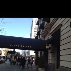 Ralph Lauren Polo Restaurant and store. Chicago