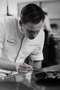 """""""In my kitchen, vegetables are more important than meat and fish. My passion for vegetables comes from my childhood when my grandfather took me to his vegetable garden. The smell of freshly plucked string beans is something i will always remember!"""" - Liudger Van Der Meer, Chef at Restaurant Wannee in Leeuwarden in The Netherlands"""