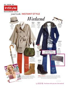 InStyle magazine Instant Style Nov. 2010, the one on the right is good