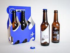Meerbier par Alessia Sistori, une marque de bière et un packaging écologique