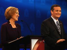 In choosing Carly Fiorina as his VP, Ted Cruz will now dominate the whole 2nd day of the California Republican Convention this weekend.