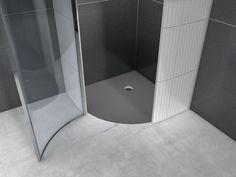 Plato de ducha de esquina empotrado FUNDO BORGO by Wedi Italia