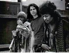 Brian, Jim and Jimi