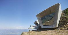 Museo de la Montaña Messner Corones, en el monte Kronplatz (Italia).