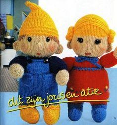 Gebreide kabouterfamilie | Knuffels-breien-en-haken.jouwweb.nl
