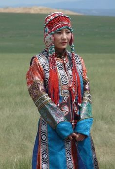 traditional clothing mongolia images - Google Search
