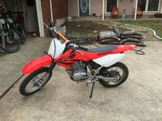 2004 Honda CRF80F MX , red, 30 hours for sale in Wylie, TX