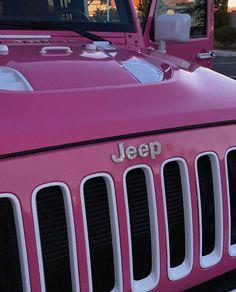 My Dream Car, Dream Life, Dream Cars, Fancy Cars, Cute Cars, Pink Jeep, Girly Car, Pretty Cars, Classy Cars