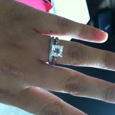 via MySparkly.com #mysparkly #ringselfie #engagementring #engaged #bling #ringspo #ringspiration