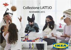 LATTJO la nuova collezione IKEA dedicata al gioco
