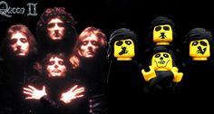 Queen - LEGO Album Covers