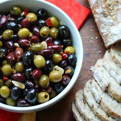 Gourmet Marinated Olives (Recipe)
