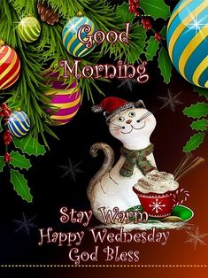 Happy Wednesday Quotes, Daily Challenges, Stay Warm, Good Morning, December, Blessed, Profile, Christmas Ornaments, Holiday Decor