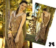 Vestido Crochet by Emerenciana