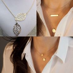 3 Necklace Bundle Bundle Contains: Gold Coin Necklace, gold Leaves Necklace, & Three Layer Necklace • Please refer to original individual listings for more details on each piece • Marked Urban Outfitters for visibility. Not from Urban outfitters. No brand. Made in China. ⓝⓞ ⓣⓡⓐⓓⓔⓢ Material: Zinc Alloy Urban Outfitters Jewelry Necklaces
