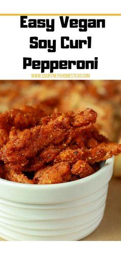 Tvp Recipes, Jerky Recipes, Best Vegan Recipes, Whole Food Recipes, Skillet Recipes, Protein Recipes, Pizza Recipes, Free Recipes, Dinner Recipes