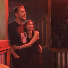Barrett & Sarah at Voice watch party Sept 21, 2015