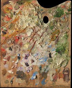 Balthus' painting palette