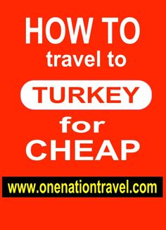 Guided Turkey tours to the best of Turkey, Istanbul, Cappadocia, Pamukkale, Ephesus, Antalya & more at: www.onenationtravel.com