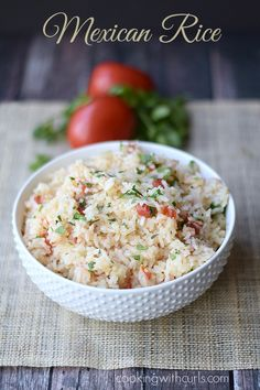 Mexican Rice | cookingwithcurls.com | #cincodemayo