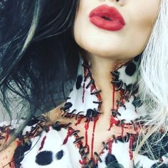 """7,334 Likes, 189 Comments - Ellimacs SFX Tutorials (@ellimacssfx) on Instagram: """"We know Cruella didn't win in our Horror Amino poll but we felt like doing her anyway. Will be up…"""""""
