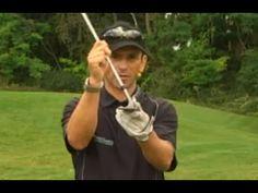 ▶ Golf Training Pitch: Hoch und stopp, der Lob - YouTube