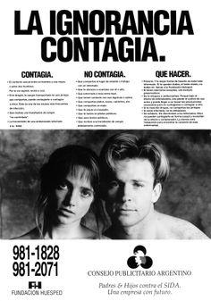 """""""Sida -La ignorancia contagia-"""" 1992"""