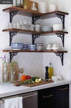 A Modern Moroccan Kitchen – diy kitchen decor ideas Home Decor Kitchen, Kitchen Interior, Home Kitchens, Diy Home Decor, Kitchen Ideas, Apartment Kitchen, Kitchen Designs, Tiny House Ideas Kitchen, Tiny Kitchens