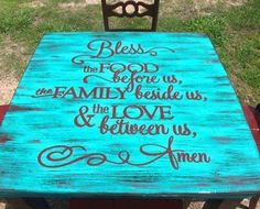 I need to do this to our picnic table!
