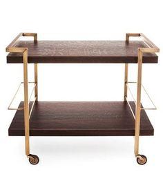 Desironu0027s Midcentury Style Driscoll Bar Cart