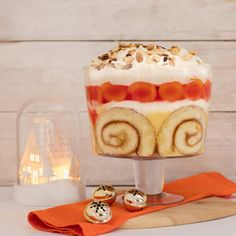 Apricot & Jelly Trifle