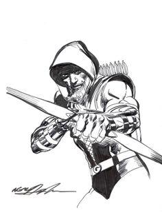 Green Arrow by Neal Adams *