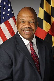 Elijah Cummings,The U.S. Representative for Maryland's 7th District. He received a B.A. degree from Howard University and a J.D. degree from University of Maryland, Baltimore.