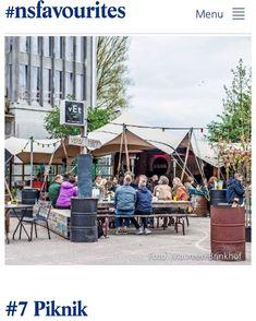 Dat is leuk! Piknik in het favorieten lijstje van de NS! Link in bio. #havenkwartier #deventer #hotspot #zomerbar #ns Pop Up, Restaurants, Street View, Bar, City, Outdoor Decor, Instagram, Home Decor, Decoration Home
