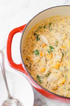 Chicken Quinoa Pumpkin Chowder