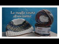 Tutorial cappello all'uncinetto a finto punto maglia
