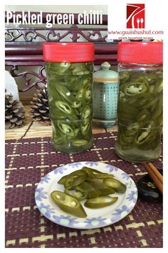 Chinese Pickled Green Chilli (腌制青辣椒)