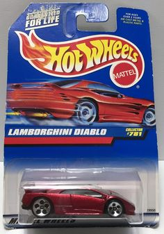 1997 Mattel Hot Wheels Mattel Wheels Series - Lamborghini Diablo This item is NOT in Mint Condition and is in no way being described as Mint or even Near Mint. Our toys have not always lead the perfec