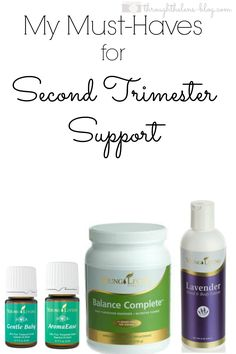 Second Trimester support with Young Living Products during pregnancy
