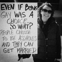 And it wouldn't matter even if it WAS a choice. The RIGHT should remain the same.