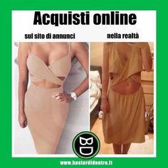 Ecco perché sarebbe meglio provarli sempre! #bastardidentro #online #vestiti www.bastardidentro.it