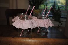 Set of 10 Mason Jar by rockabyebabystore on Etsy, $25.00