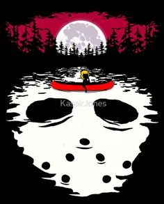 Friday the 13th moonscape Jason