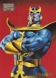 Thanos 1996 Marvel Masterpieces Card  # 48  NM/M Boris Vallejo